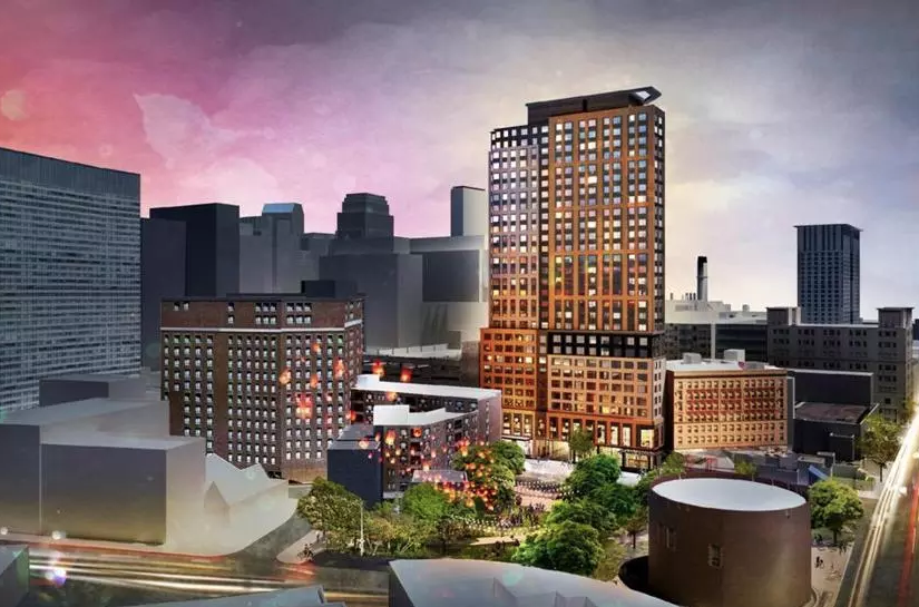 Developers get OK for high-rise affordable housing on Chinatown parking lot