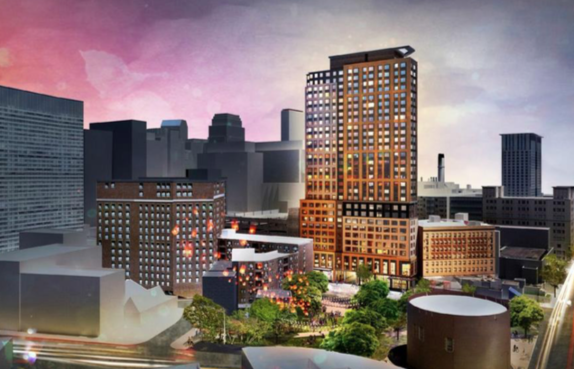 Winthrop Center Construction Could Employ 1,400 Boston Residents